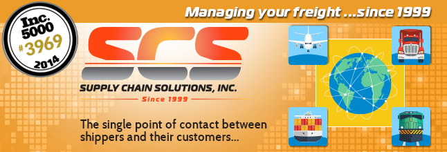 Supply Chain Solutions Header